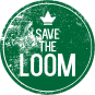 logo save the loom klein kleur