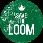 logo save the loom klein kleur