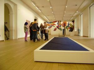 Blue to Black, Willem de Rooij, Stedelijk Museum Amsterdam