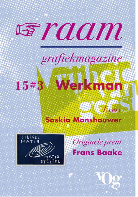 2004 Purvis H. N. WERKMAN Dutch Avant-Garde Typography Letterpress Design Book