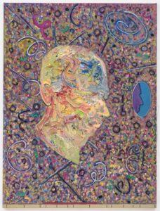 External Brain 4 2015 olie op linnen 160x120